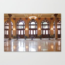 Main Street Station Canvas Print