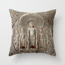 Ranakpur - India - Buddha Throw Pillow