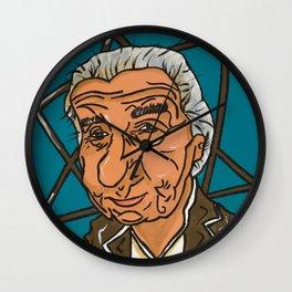 Golda Meir Wall Clock