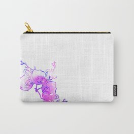 ink watercolour flower Carry-All Pouch