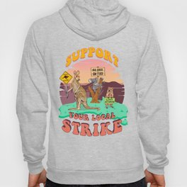 Australia: Support Your Local Strike Hoody
