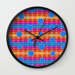Kayla's Pattern Wall Clock