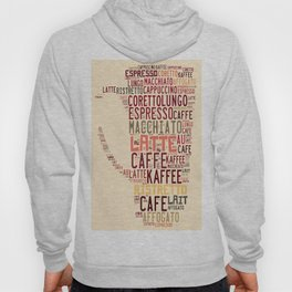 many types of coffee Hoody
