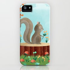 Woodland Friends - Squirrel Slim Case iPhone (5, 5s)
