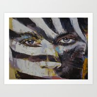 carnival Art Prints featuring Carnival by Michael Creese