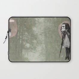 Feminine Collage II Laptop Sleeve