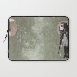 Feminine Collage II Laptop Sleeve