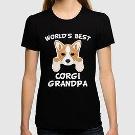 World's Best Corgi Grandpa T-shirt