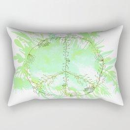 Peace. Love. Make love. Rectangular Pillow