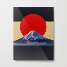 Fujisan Metal Print