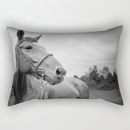 Horses of Instagram Rectangular Pillow