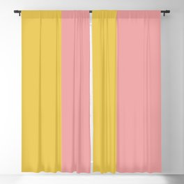Color Block Abstract XIII Blackout Curtain