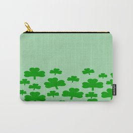 St. Patrick's Day field of Shamrocks Carry-All Pouch