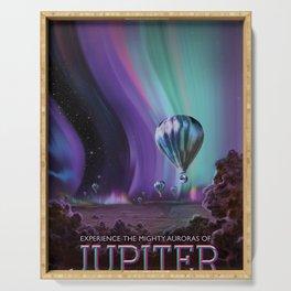 Jupiter Poster Serving Tray