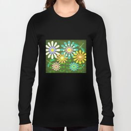 In The Garden Among The Flowers Long Sleeve T-shirt