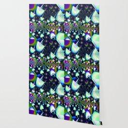 Rainbow psychedelic mushrooms Wallpaper