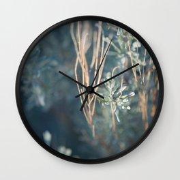 Golden Sage Wall Clock