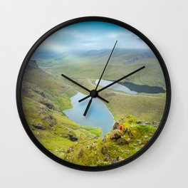 Macgillycuddy's Reeks Kerry Ireland Wall Clock