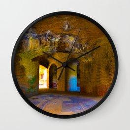 Fort Wall Clock