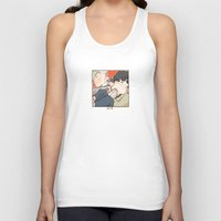 221b Tank Tops featuring 221B by Negative Dragon