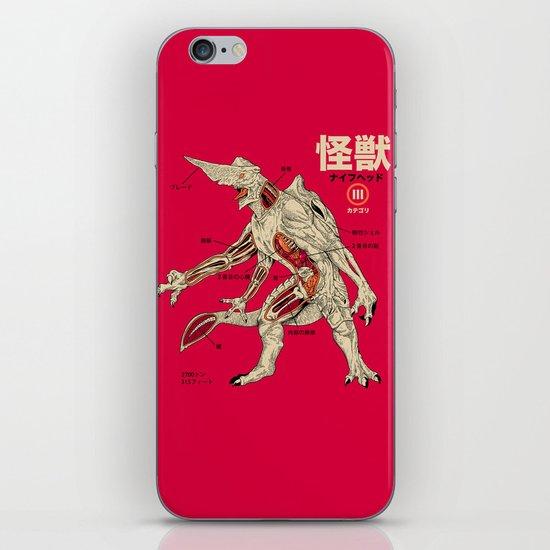 Kaiju Anatomy iPhone & iPod Skin