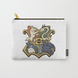 Ghibliwarts Crest Carry-All Pouch