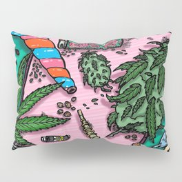 Cannabis Altar I Pillow Sham