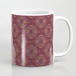 Orange Zentangle Coffee Mug