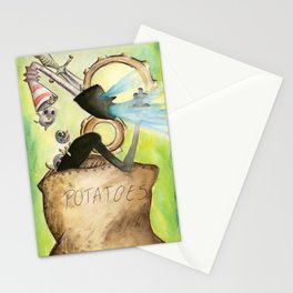 Potatoes Stationery Cards