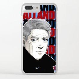 Kurt Wallander, Henning Mankel, Kenneth Branagh Clear iPhone Case