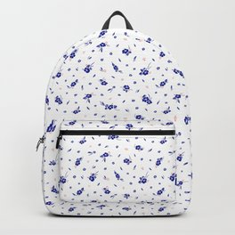 Hibiscus Hawaiian Flowers - White Backpack