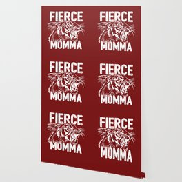 Fierce Momma / Red Wallpaper