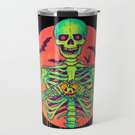 I Love Halloween Travel Mug