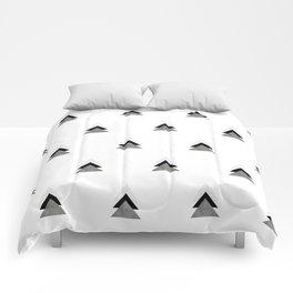 Arrows Collages Monochrome Pattern Comforters