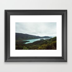 Marlborough Sounds Framed Art Print
