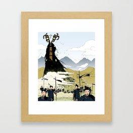 Eldritch Princesses: Mulan Framed Art Print