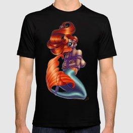 Redhead Shibari Mermaid T-shirt