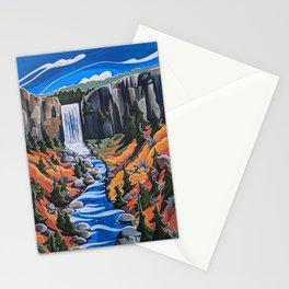 Tumalo Falls Stationery Cards