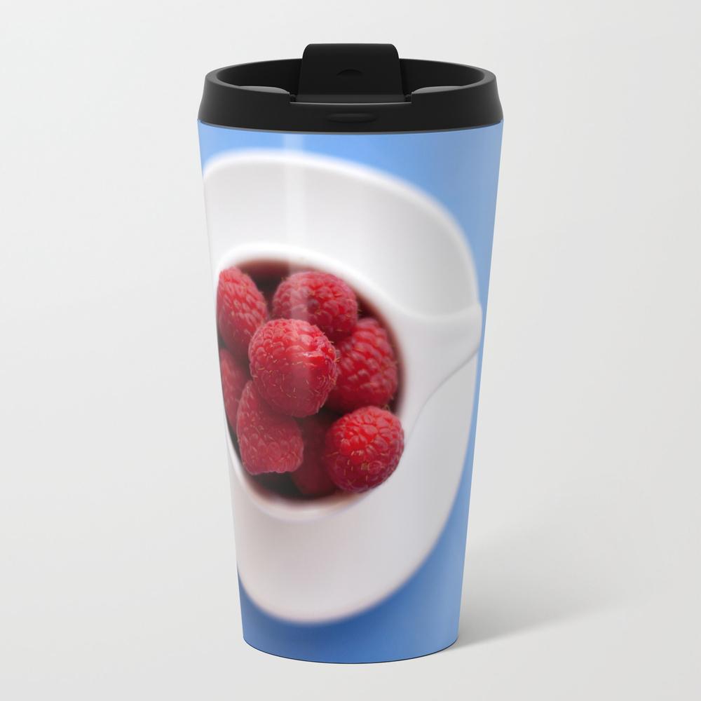 Raspberries In A Cup Travel Mug TRM8024579