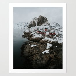 Hamnøy Art Print