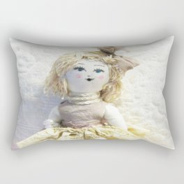 Doll in Lace~ Rectangular Pillow