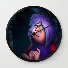 Madame Mim Wall Clock