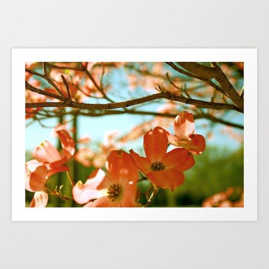 A Spring Day Art Print