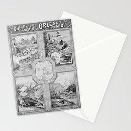retro ORLEANS et MIDI Stationery Cards