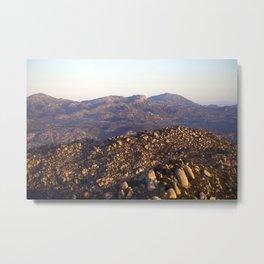 Golden Hills Metal Print