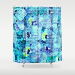 flower kirsche kaleidoskope Shower Curtain