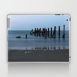Happisburgh Beach Groynes Laptop & iPad Skin