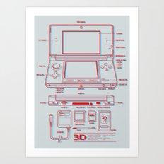 3DS Art Print