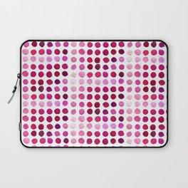 Pink Pink Polka Pink Laptop Sleeve