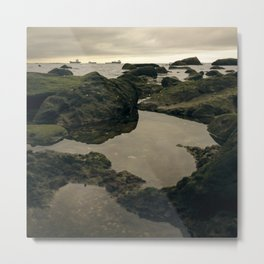 Rocky Shore and the Sea 01 Metal Print